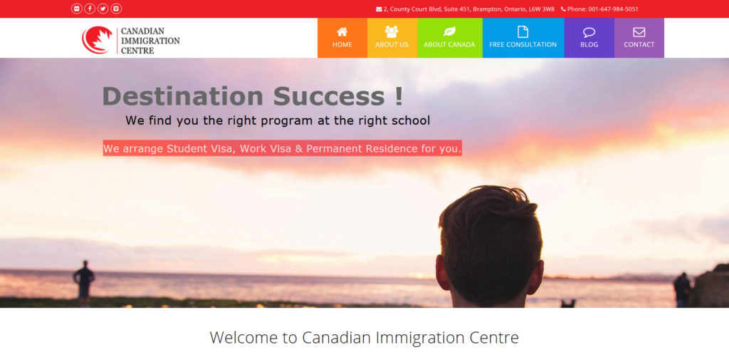 Canadian Immigration Centre