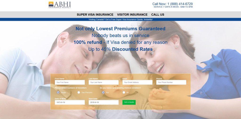 Abhi Financial, Canada